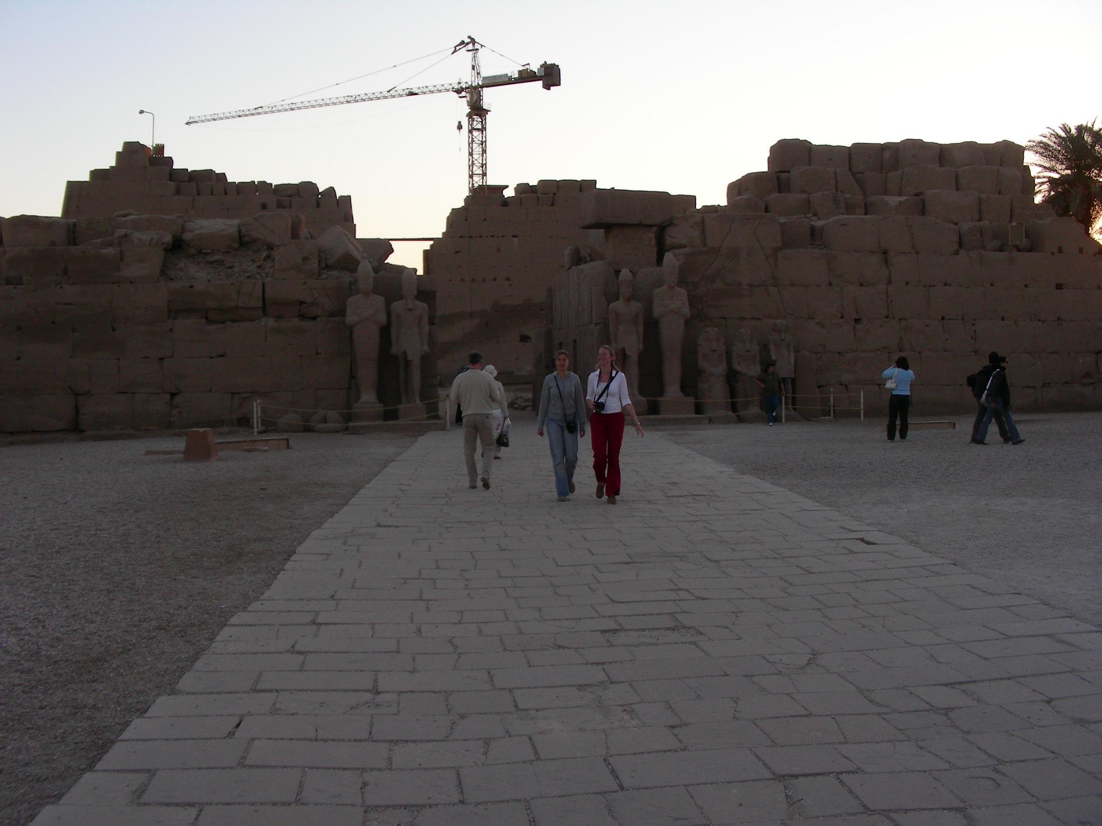 восстановление древнего Египта