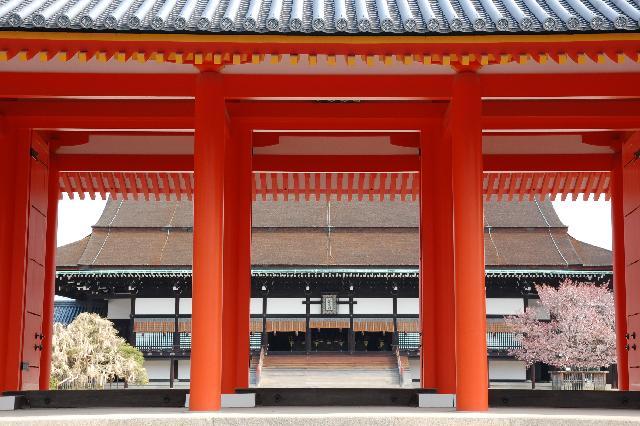Императорский дворец в Киото