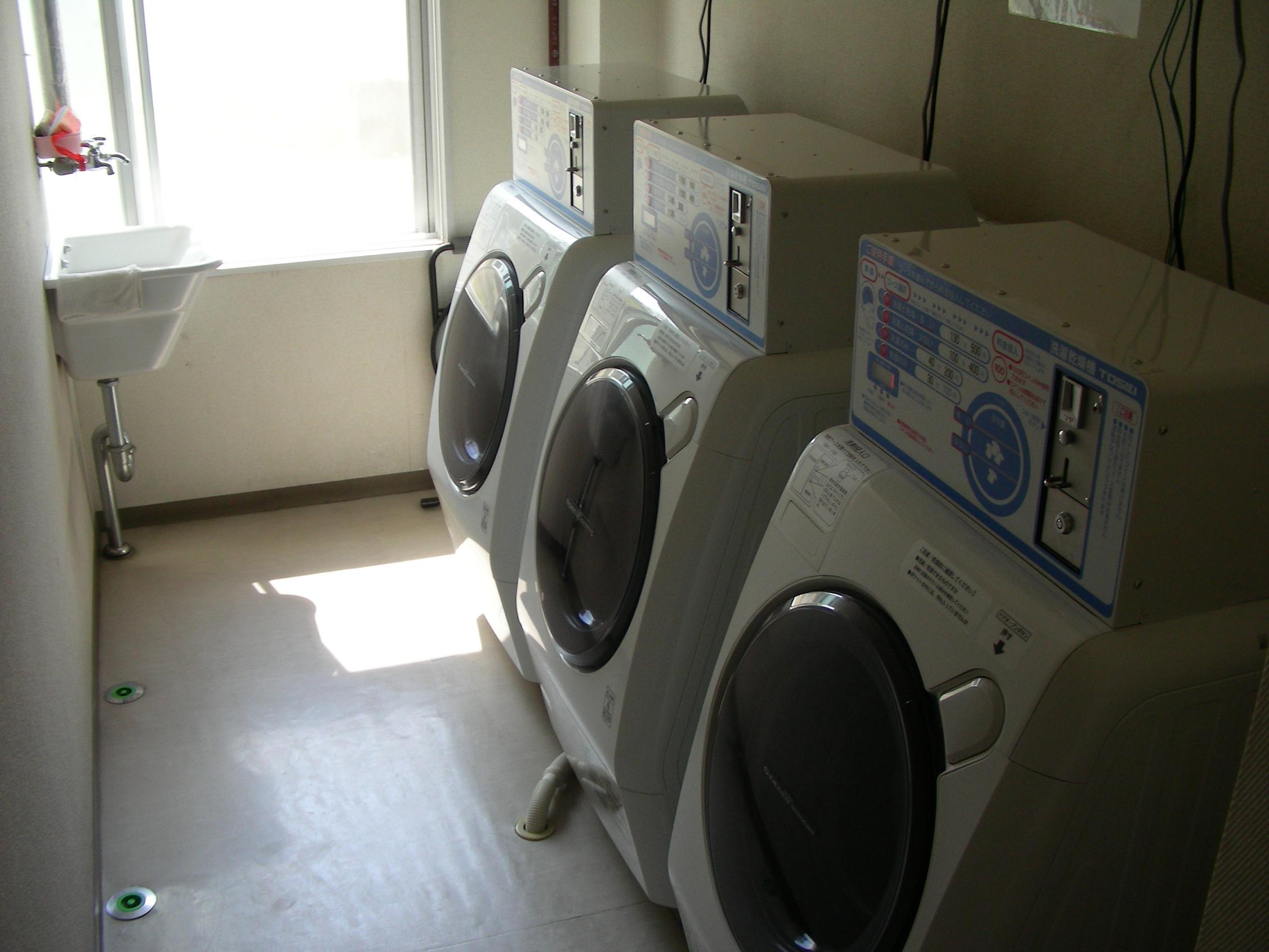 комната для стирки в Японии