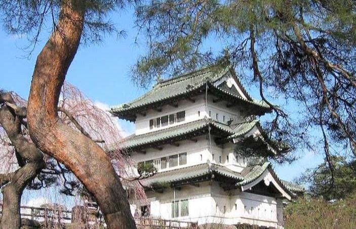 Замки Японии Хиросаки