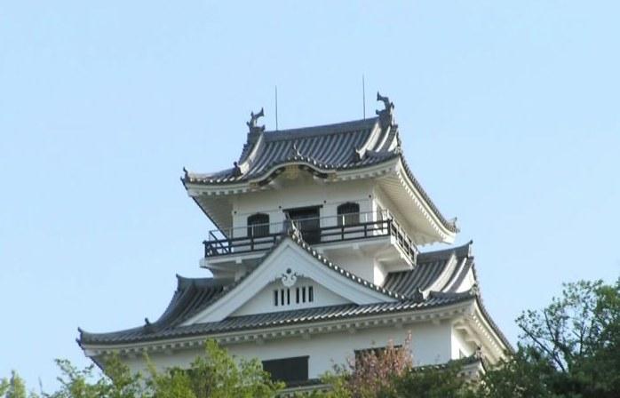 Замок Татэяма Япония