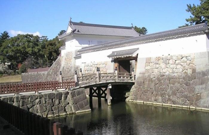 Замок Одавара Япония