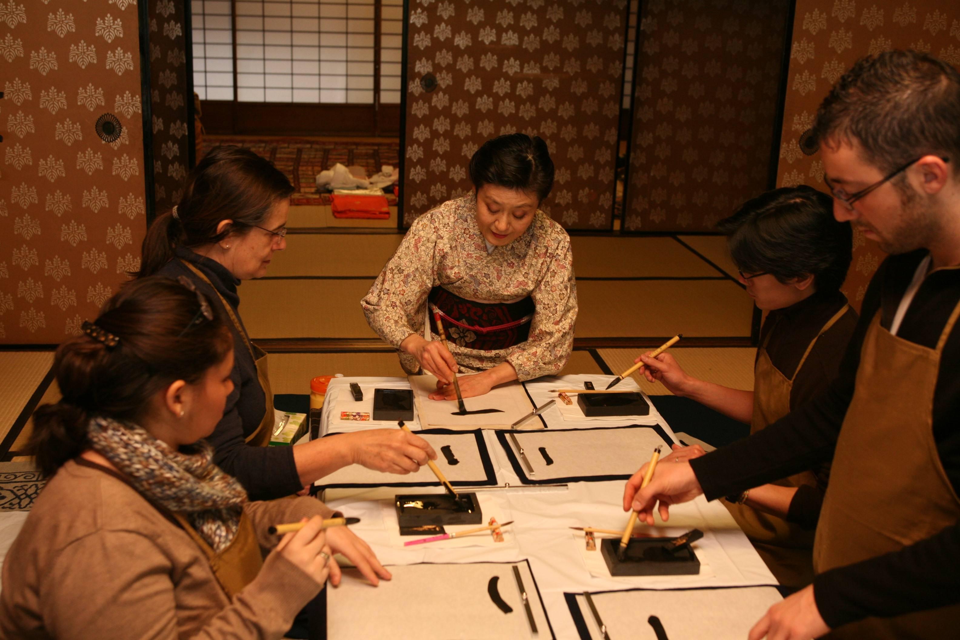Япония каллиграфия