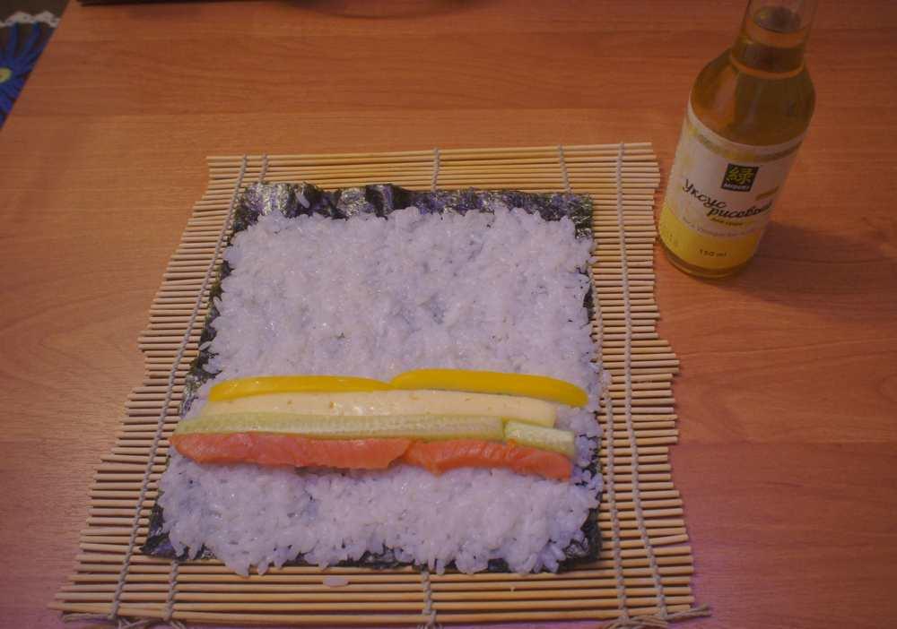 Суши в домашних условиях рецепты с пошаговым