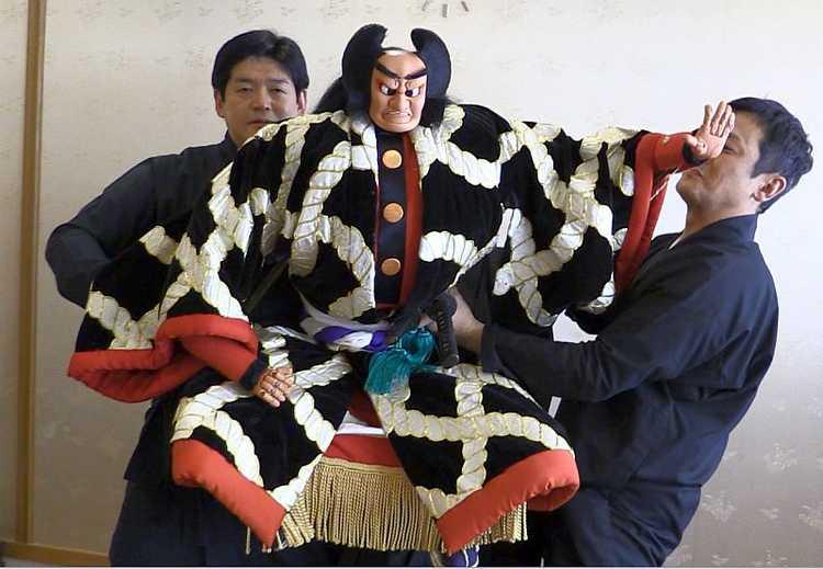 японский театр кукол