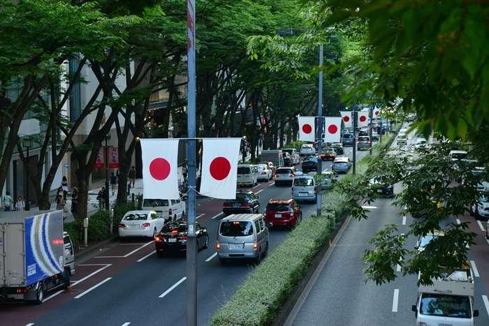 флаг символ Японии
