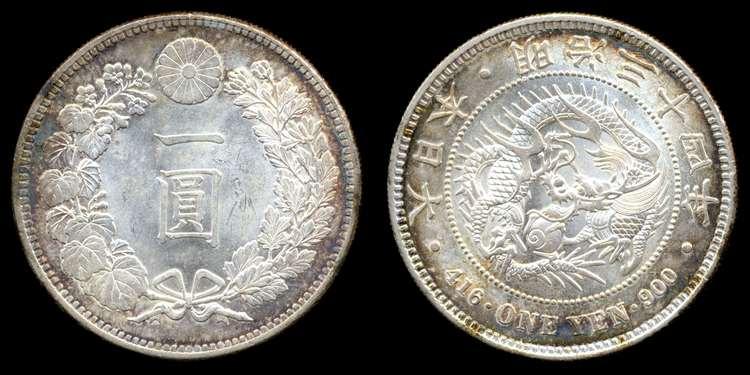 иена 1901 года