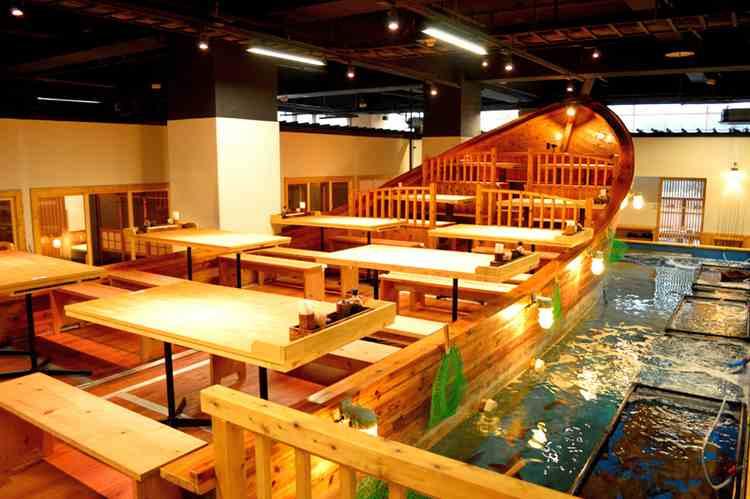 ресторан лодка