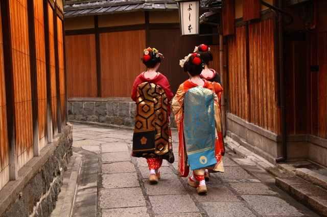 гейши Киото