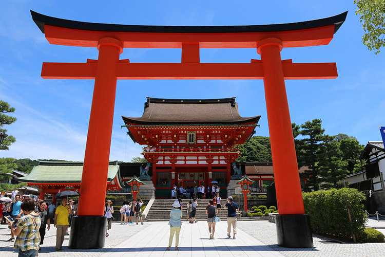 Киото храм