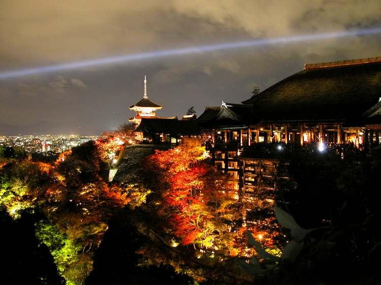 Киото храмчистой воды