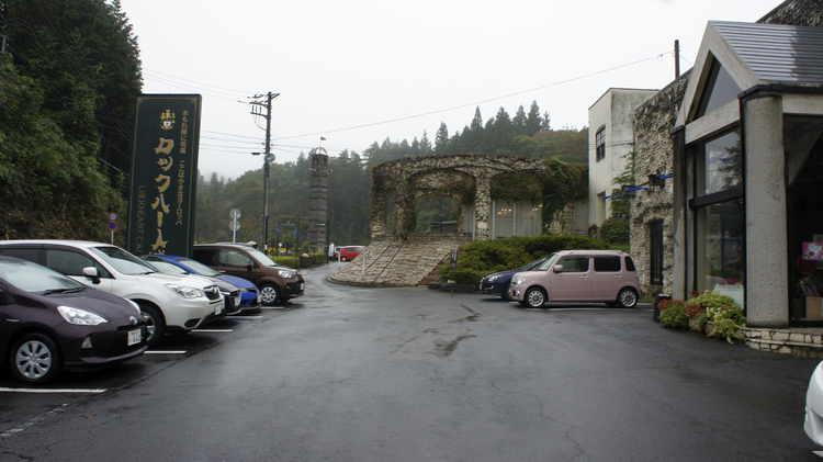 шотландский замок в Японии