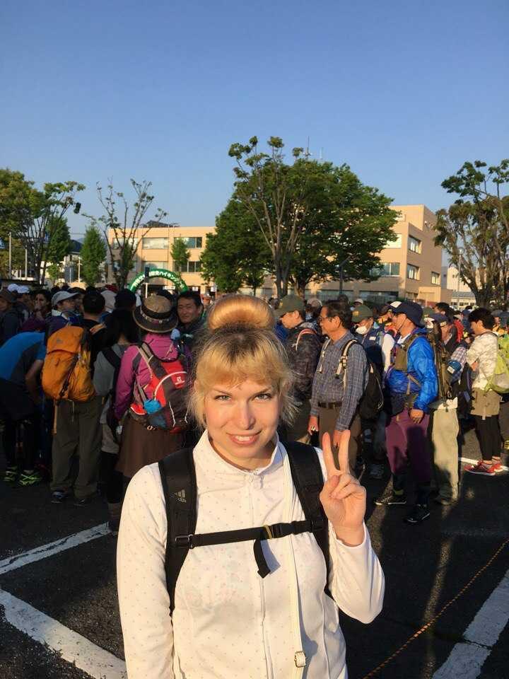 японский марафон
