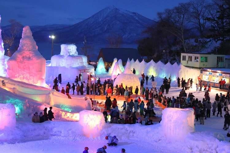 фестиваль снега в Саппоро