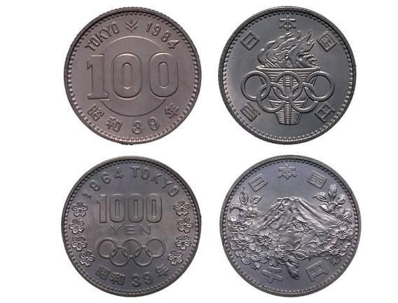 монеты Японии