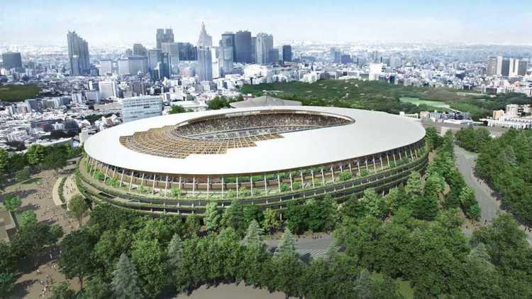 стадион в Токио