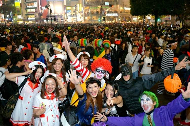 хэллоуин в Японии